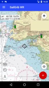 sailgrib apps support - SailGrib