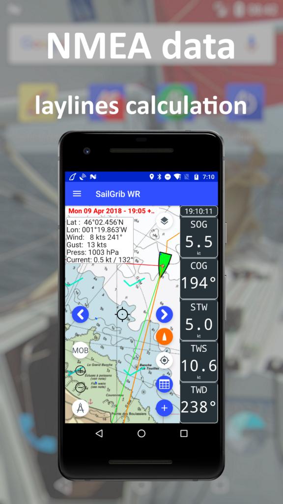 Marine weather, Routing, Navigation, Marine Charts |SailGrib